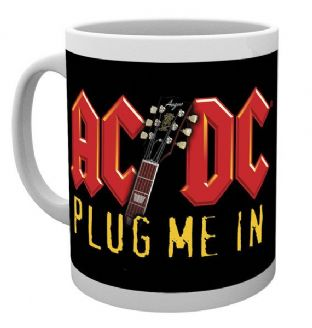 AC/DC - Plug Me In - MUG - (11oz) (Brand New In Box)